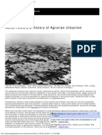 Waldheim_Notes Toward a History of Agrarian Urbanism