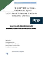 Proyecto - Elaboración de Mermelada de Sirimbache en Celendín