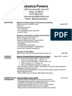 resume jessica powers updated nov 2014