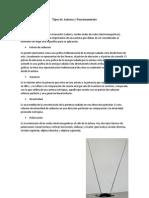 Tipos de Antenas y Funcionamiento