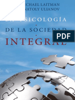 La Psicologia de La Sociedad Integral