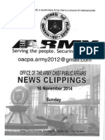 16 Nov 14 Newsclippings