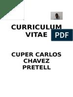 Curriculum Cuper Carlos 2013
