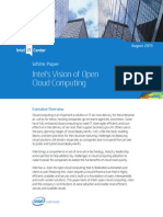 Open Cloud Computing Vision Paper