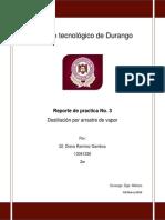 Reporte de Practica 3°