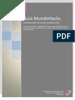 Primera Guía de Sitio Mundohacks