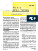 Ohio Pharmacy State Board Newsletter (Nov 2014)
