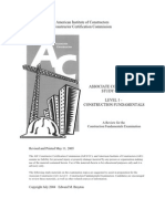 Associate Constructor Study Guide