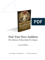 Nail Your Next Audition