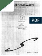 The Second Waltz shostakovich.pdf