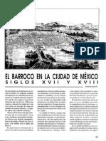 El Barroco en La Ciudad de México Siglos XVII y XVIII