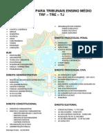 EDITAL PADRÃO - TRIBUNAIS