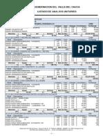 Analisis Precios Unitarios-2014