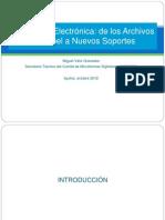 Presentación Miguel Véliz Granados Iquitos