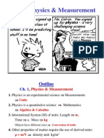 Lecture 01 Physics introduction