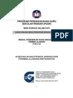 PKB3083-Modul Kaedah Pengajaran Khas Matematik