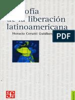 Cerutti Guldberg, Horacio_Filosofía de La Liberación Latinoamericana