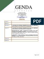 Agenda Semanal 2014-21
