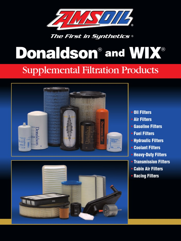 Donaldson Wix Filtration Engines Racing Fuel Filter