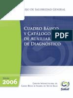 Estudios auxiliares de diagnostico medico