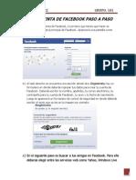 Crear Cuenta de Facebook Paso a Paso