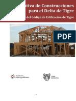 Normativa de Construcciones Delta. Anexo I Del Codigo Edificacion 27-02-13