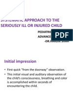Systematic Approach to the Seriously Ill or Injured