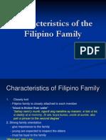 Characteristics of a Filipino Family