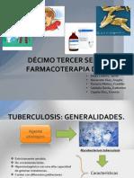 Tratamiento farmacologico de la tuberculosis