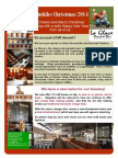 Imbibe Newsletter Christmas 2014
