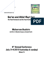 A Combined Booklet of the Fazeelat of the Ahlul Bayt (AS) part 1