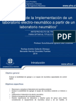 Defensa de tesis, implementacion de electroneumatica
