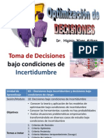 02 Decisiones Bajo Incertidumbre