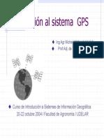 Introduccion Al Sistema Gps