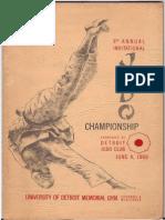 Judo Book 1960