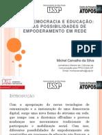 CIBERDEMOCRACIA E EDUCAÇÃO