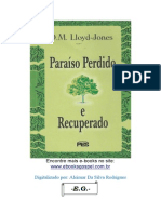 Lloyd Jones - Paraiso Perdido e Recuperado