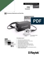 Manual Pirometro Marathon FR1 (Duas Cores)