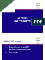Setting IOP Targets