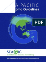 Asia Pacific Glaucoma Guidelines
