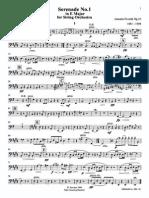 Dvorßk Serenade for Strings DB