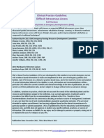 Difficult IV Access c Pg