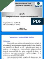 AULA 2) Adensamento e Compressibilidade (1)