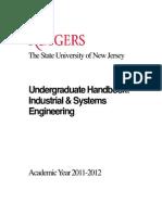 Undergraduate Handbook 2011 (ISE)