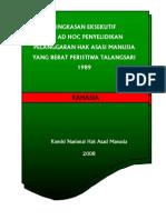 The KOMNASHAM Report on the Talangsari Massacre