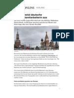 Ausweisung Russland Deutsche Botschaft