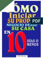 Negocio en Casa en 10 Dìas (Rubén Reynaga)
