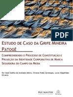 Estudo de caso da grife mineira Patogê