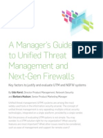 Sophos Managers Guide to UTM NGFW