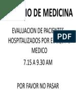 Servicio de Medicina